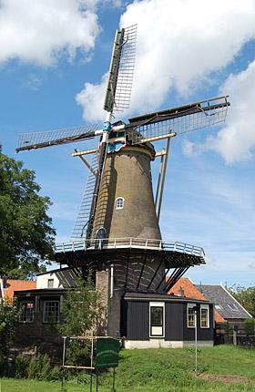 1851_DD van Dijk_De Bernisse Molen_Geervliet