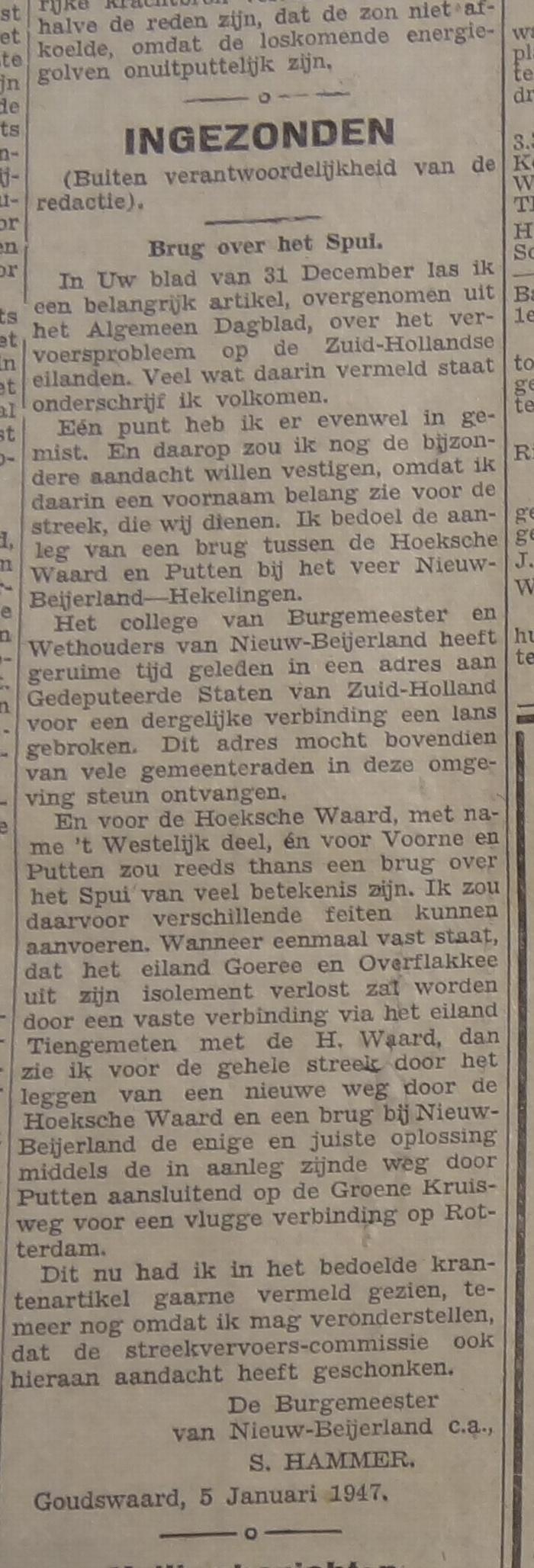 brug-over-het-spui-hammer-januari1947