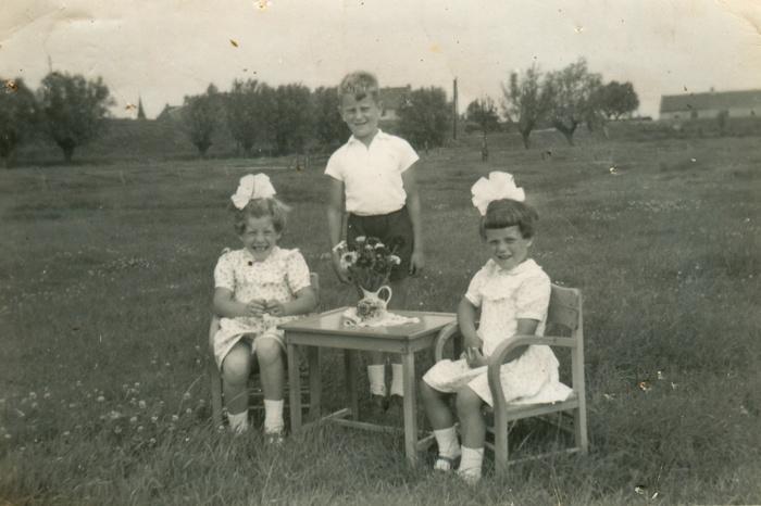 picknick-steegjesdijk-arie-alie-corrie-circa1955