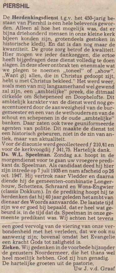piershil-knipsel-450jaar-herdenkingsdienst
