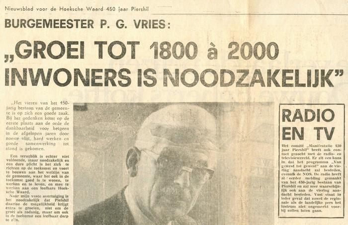 piershil-knipsel-burgemeester-vries-11juni1975-01
