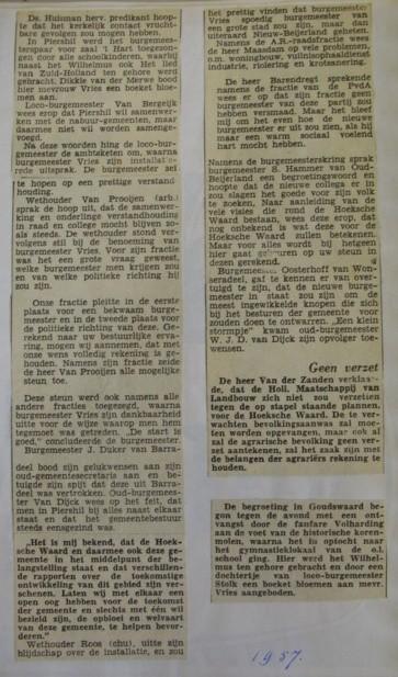 piershil-knipsel-burgemeester-vries1957-02