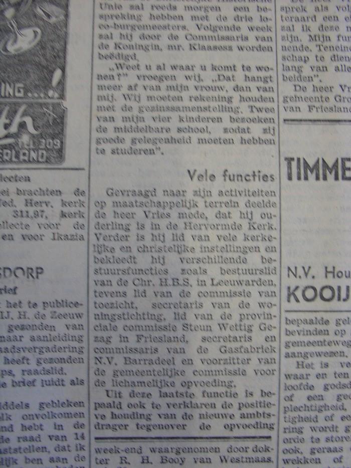 piershil-knipsel-burgemeester-vries1957-06