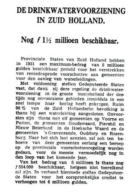 piershil-knipsel-drinkwater-rotterdamschnieuwsblad-1nov1937