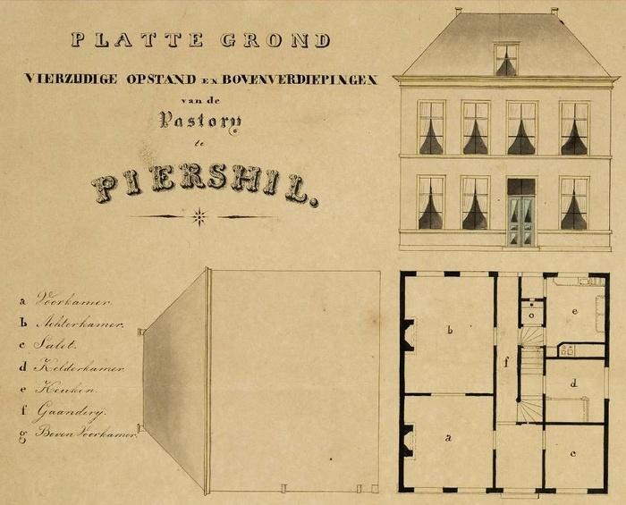piershil-pastorie-plattegrond-1860-02