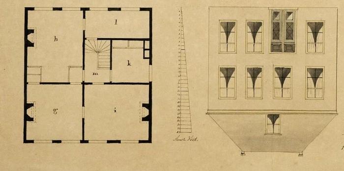 piershil-pastorie-plattegrond-1860-03