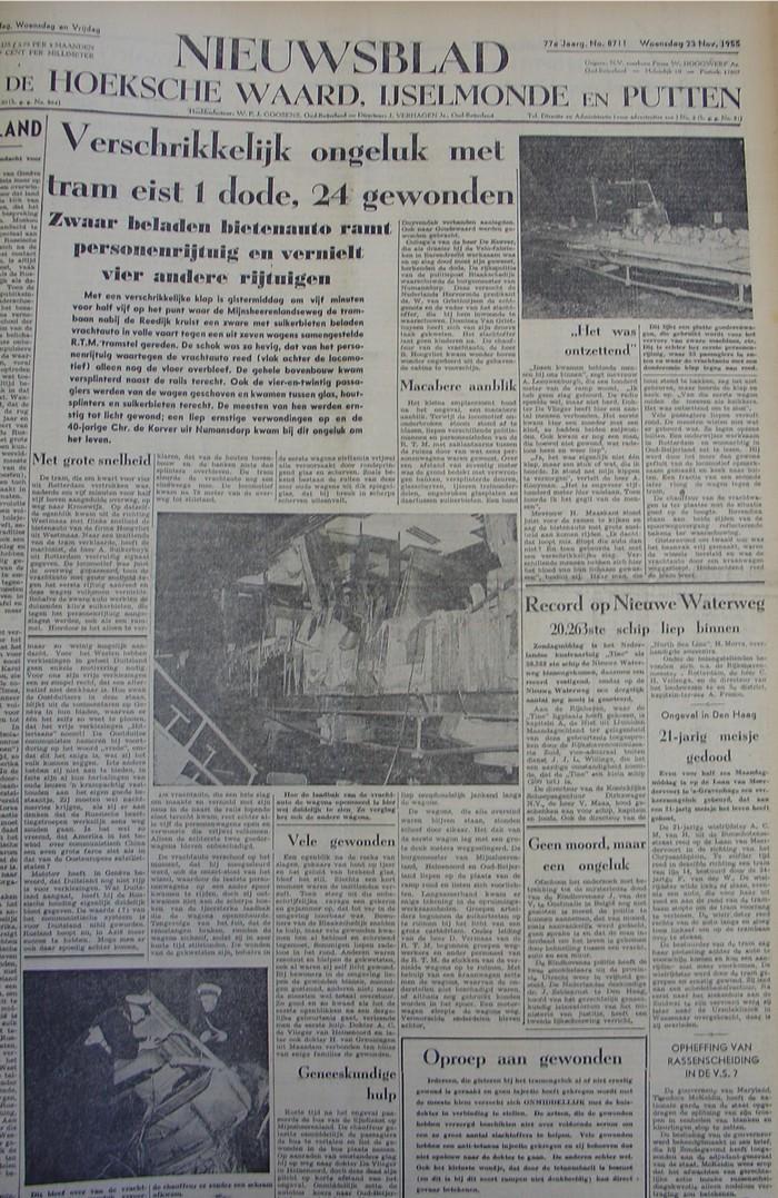piershil-rtm-ongeluk-1955-voorpagina