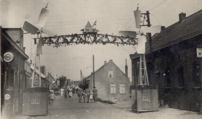 piershil-sluisjesdijk-eindedorpskant-1948