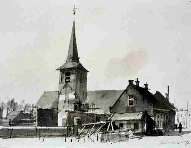 piershil-tekening-kerk-goedhart