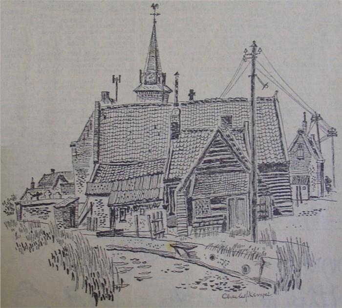 piershil-tekening-kerk
