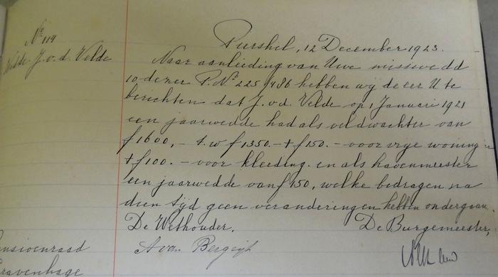 piershil-wedde-veldwachter-12december1923