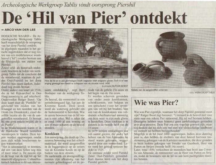 Hil van Pier-Kompas-23-09-2005