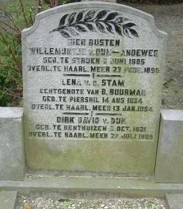 Hoofddorp_begraafplaats-de-Iepenhof_nr107_Dirk-David-van-Dijk ea
