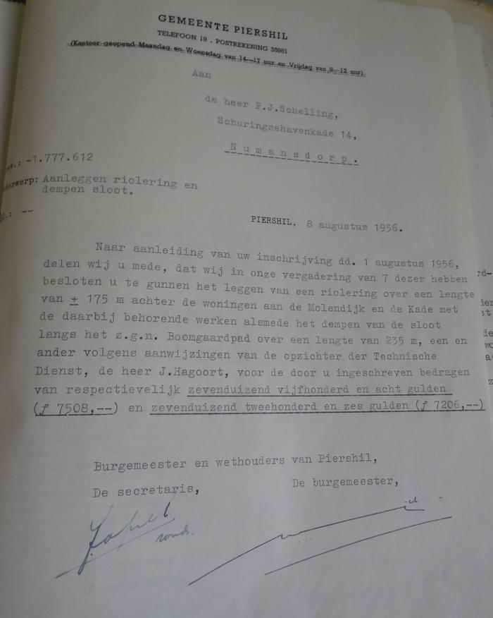 piershil-boogaardsloot-dempen-offerte-gunning-8aug-1956
