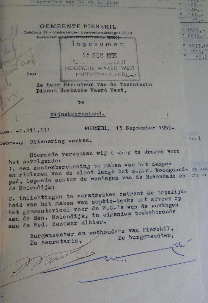 piershil-boogaardsloot-dempen-offerteaanvraag-13sept-1955