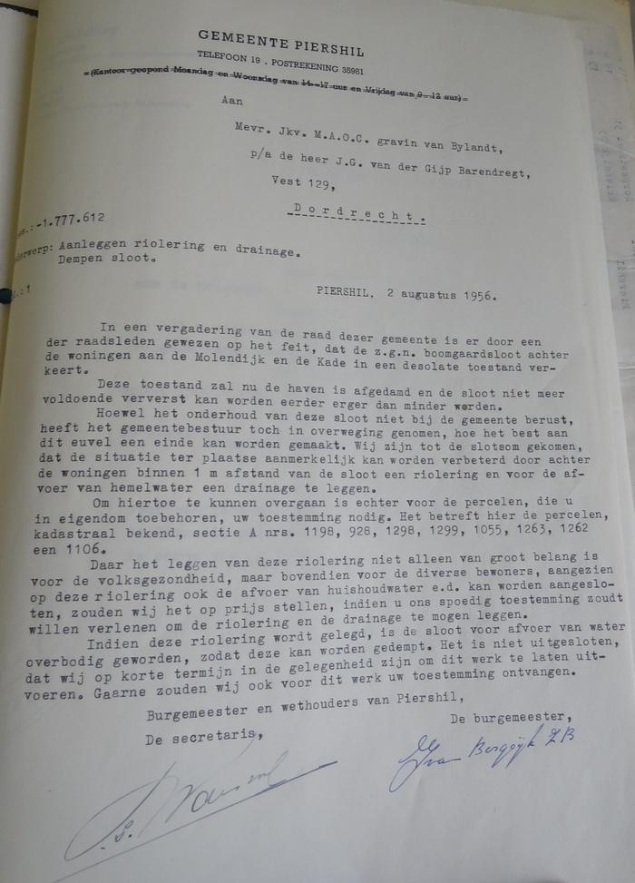 piershil-boogaardsloot-toestemming-vragen-eigenaar-2aug-1956