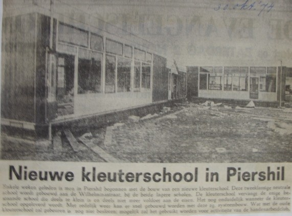 piershil-knipsel-nieuwekleuterschool-30okt1974
