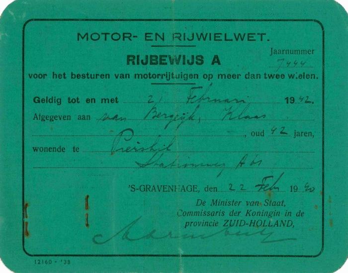 piershil-rijbewijs-1940-voor