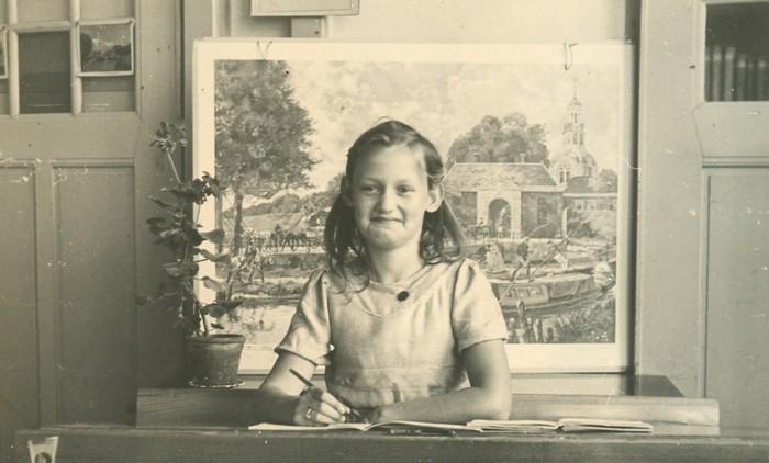 piershil-schoolfoto-grietha-vanderlinden-1950