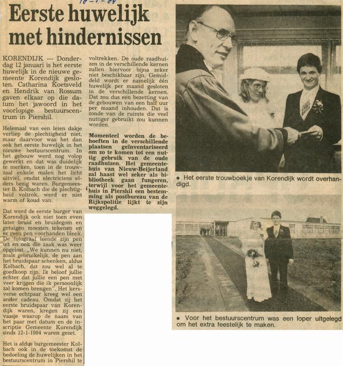 piershil-voorlopig-bestuurscentrum-eerste-huwelijk-18jan1984